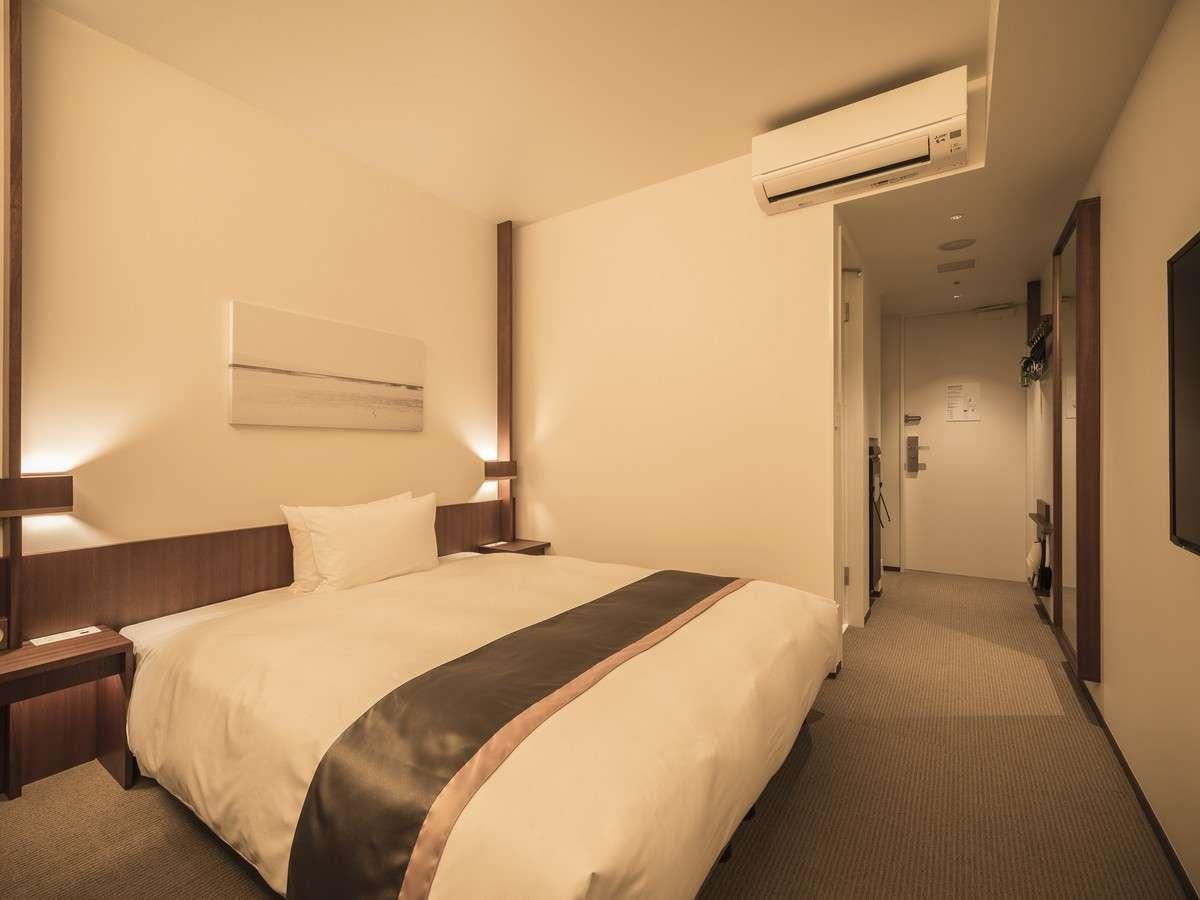 【モデレート】 全室禁煙・18㎡・ベッド幅160cm