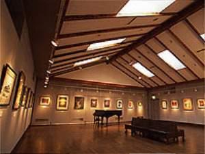 美術館兼コンサートホール。