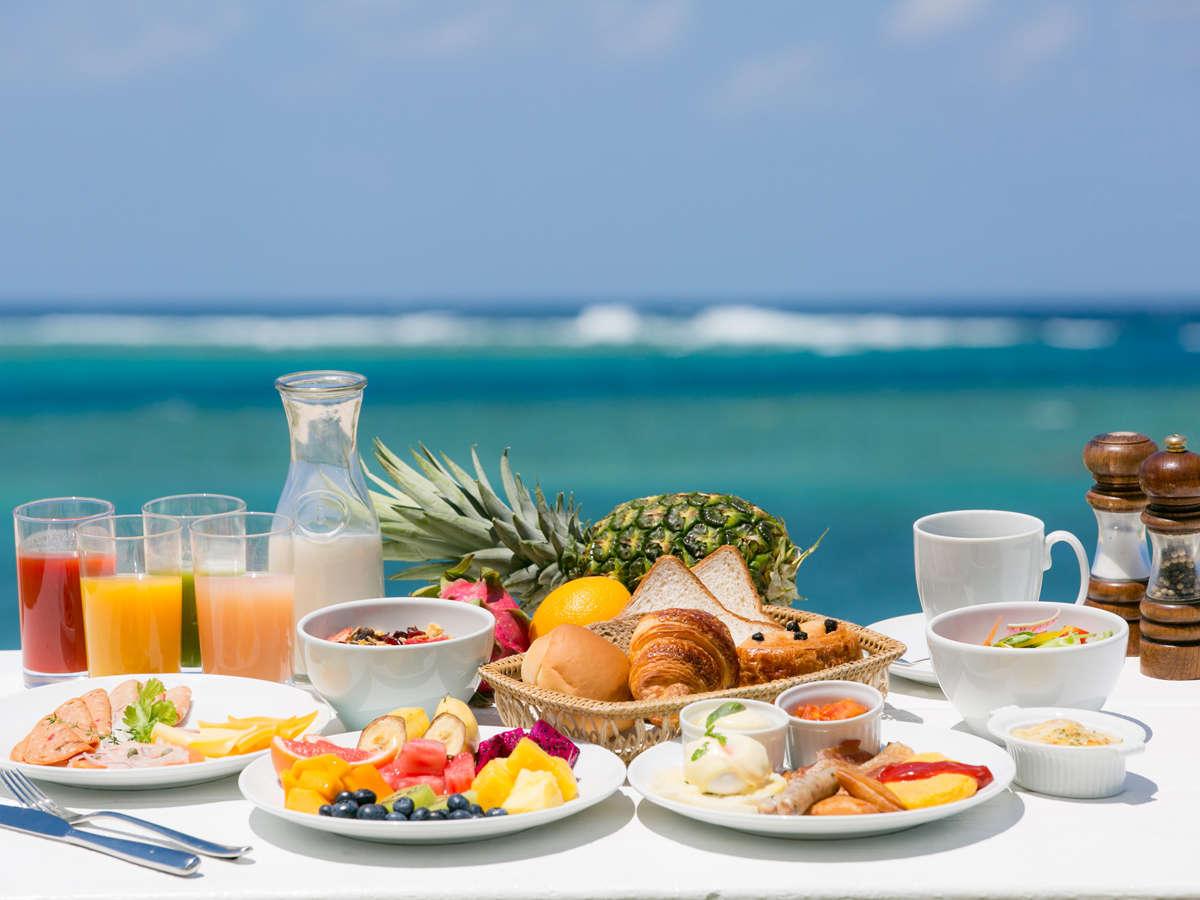 約80種類以上のバラエティ豊富な和洋朝食ブッフェ