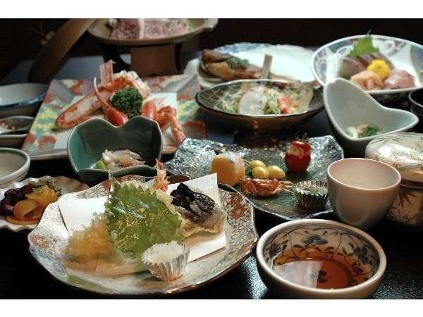 【夢彦会席】料理長自慢の基本会席o(^▽^)o季節で内容が変わります(一例)