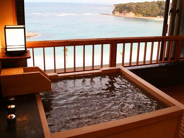 モダンタイプのお風呂・源泉掛け流しの温泉です