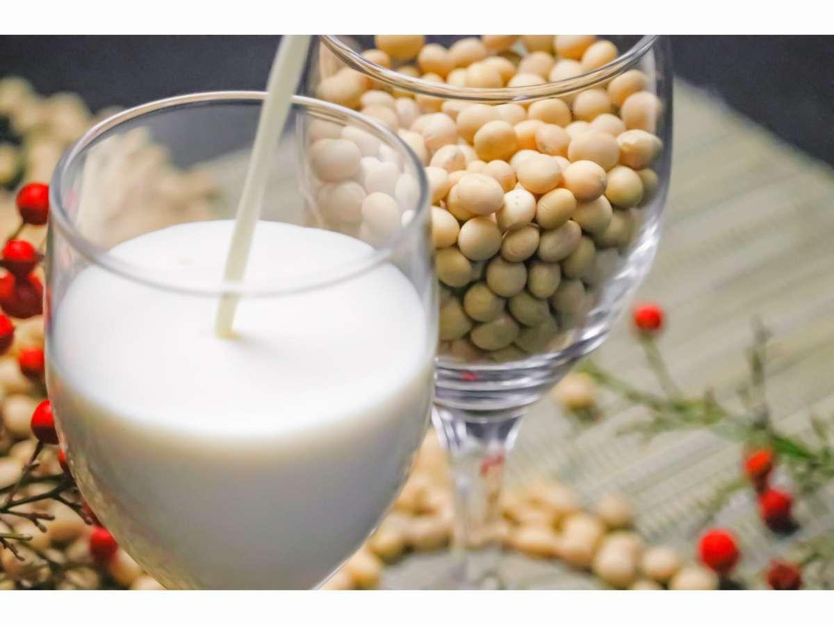 自家製の豆乳は御朝食会場にてお召し上がり頂けます。