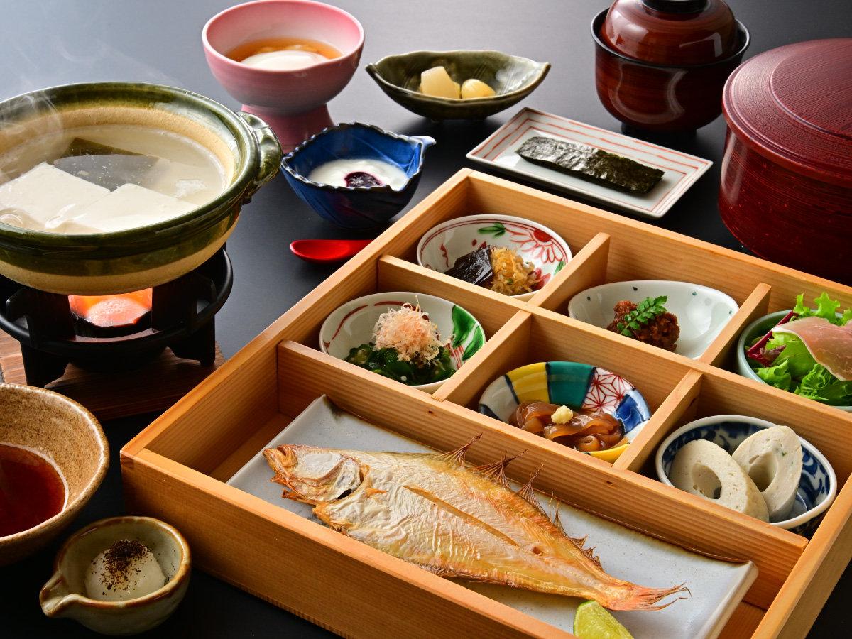 鳥取の美味しい朝をイメージ。シンプルだから旨い!朝食も拘ります。