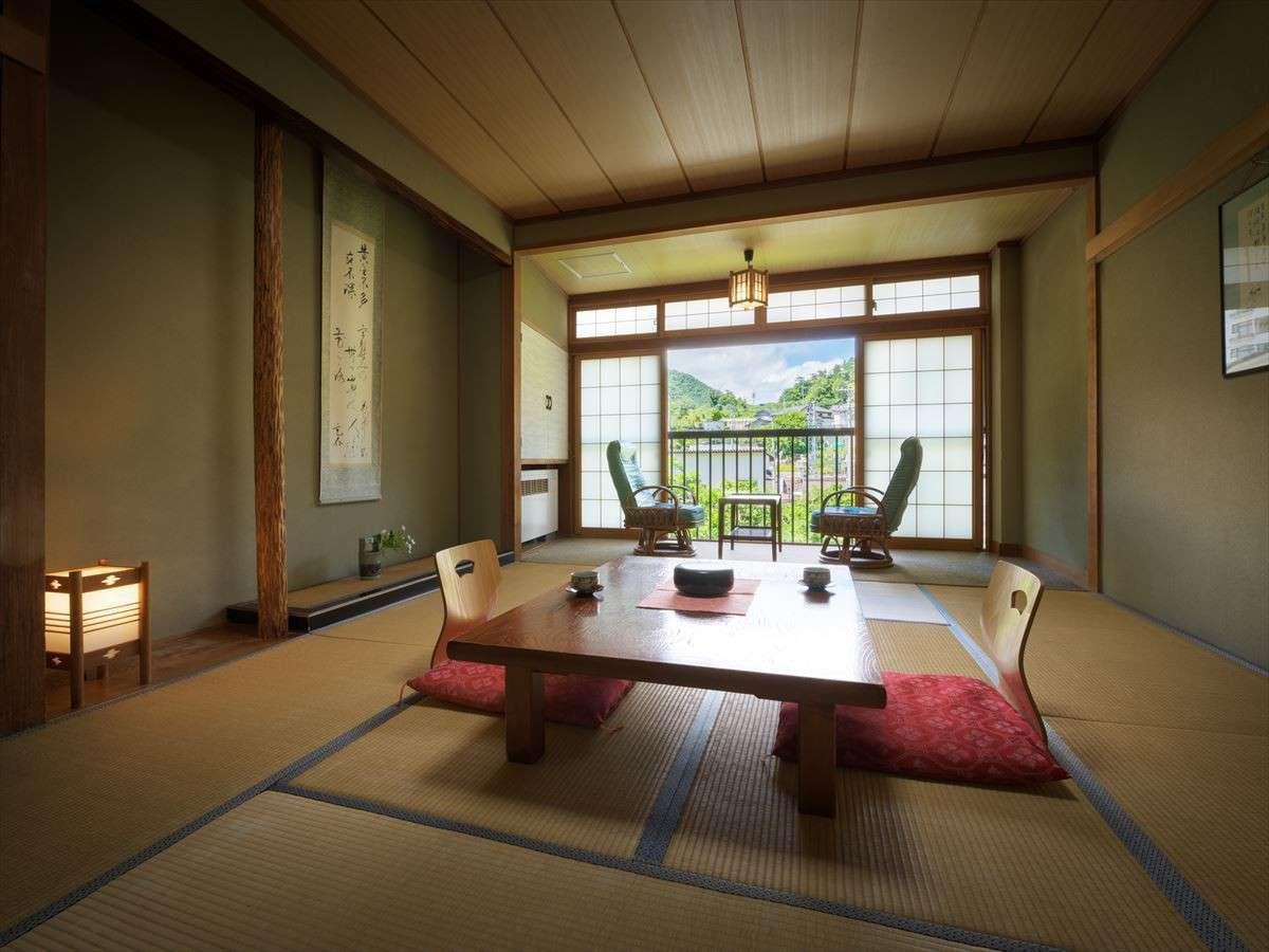 落ち着いた雰囲気の【和室10畳】wi-fi完備
