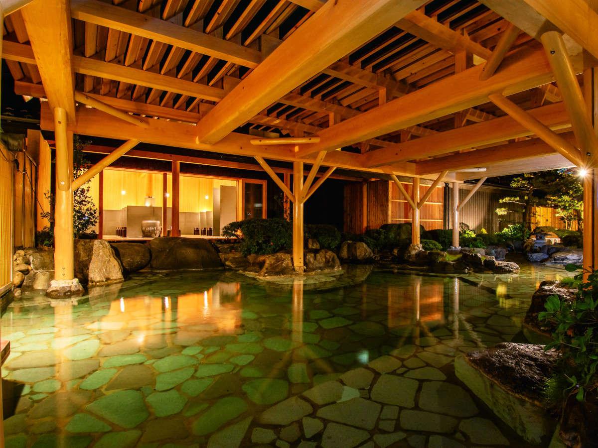 男性庭園露天風呂のイメージ