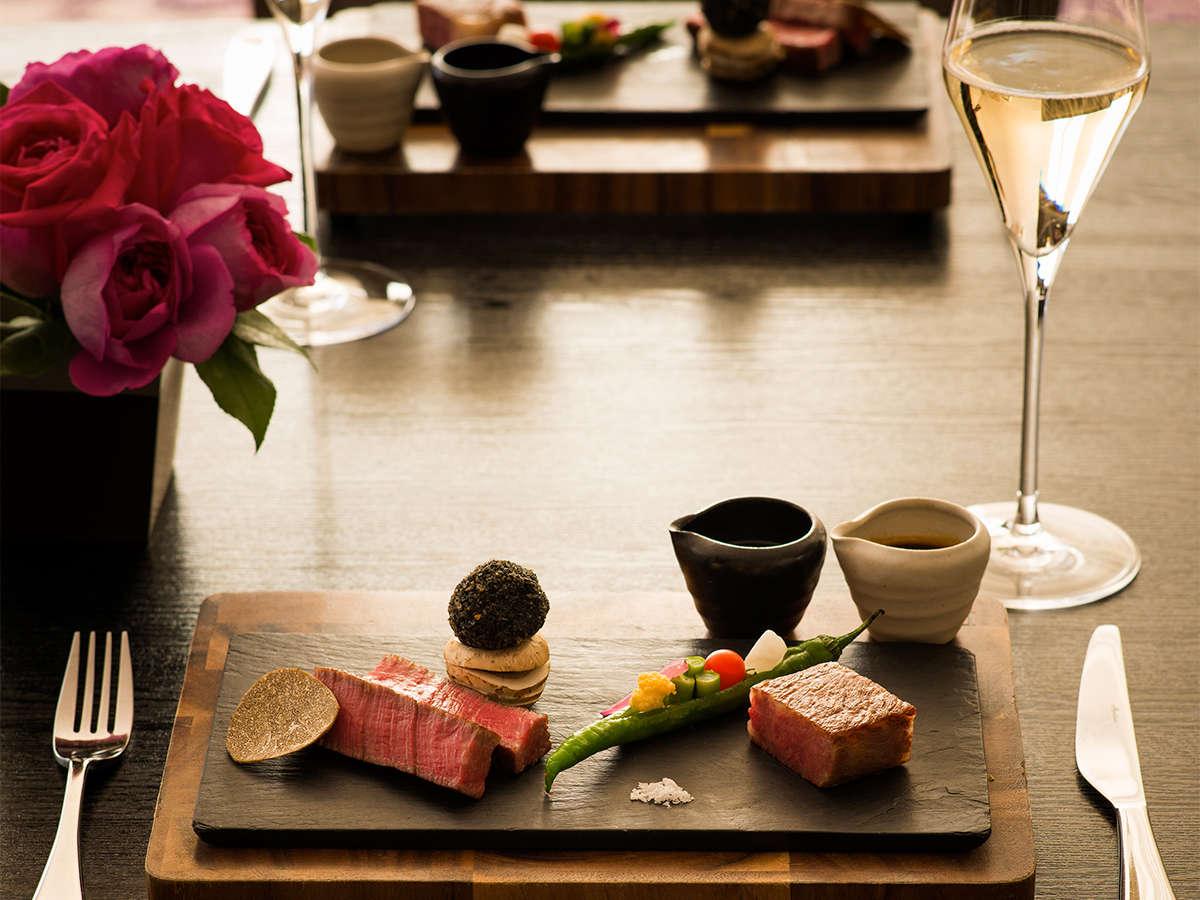 ラウンジ&ダイニングG 色彩豊かなお料理やドリンクで、お客様をおもてなしします。