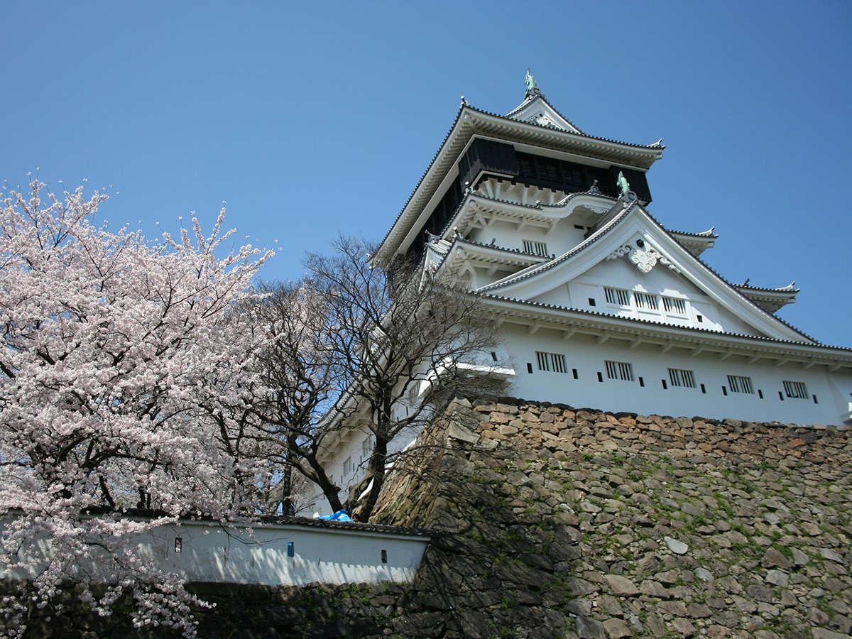 1602年、細川忠興公が築城した名城。