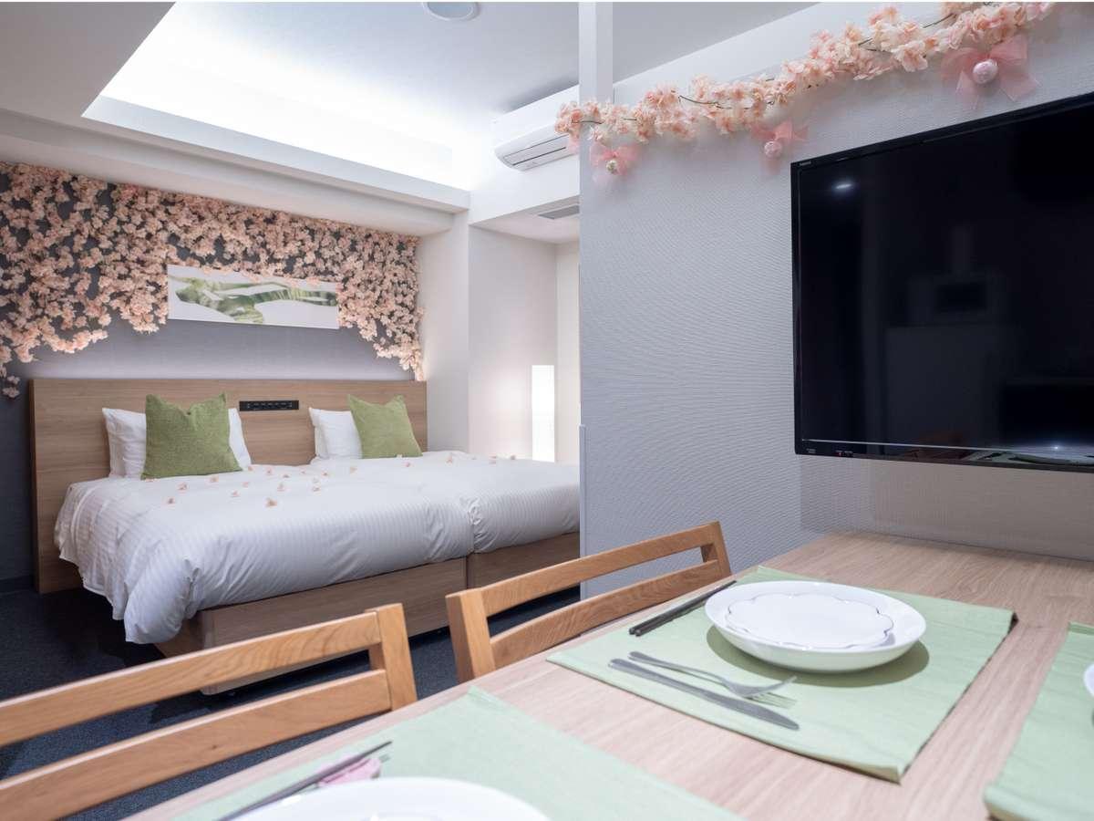 【期間限定!桜ルーム】客室でお花見はいかがでしょうか??