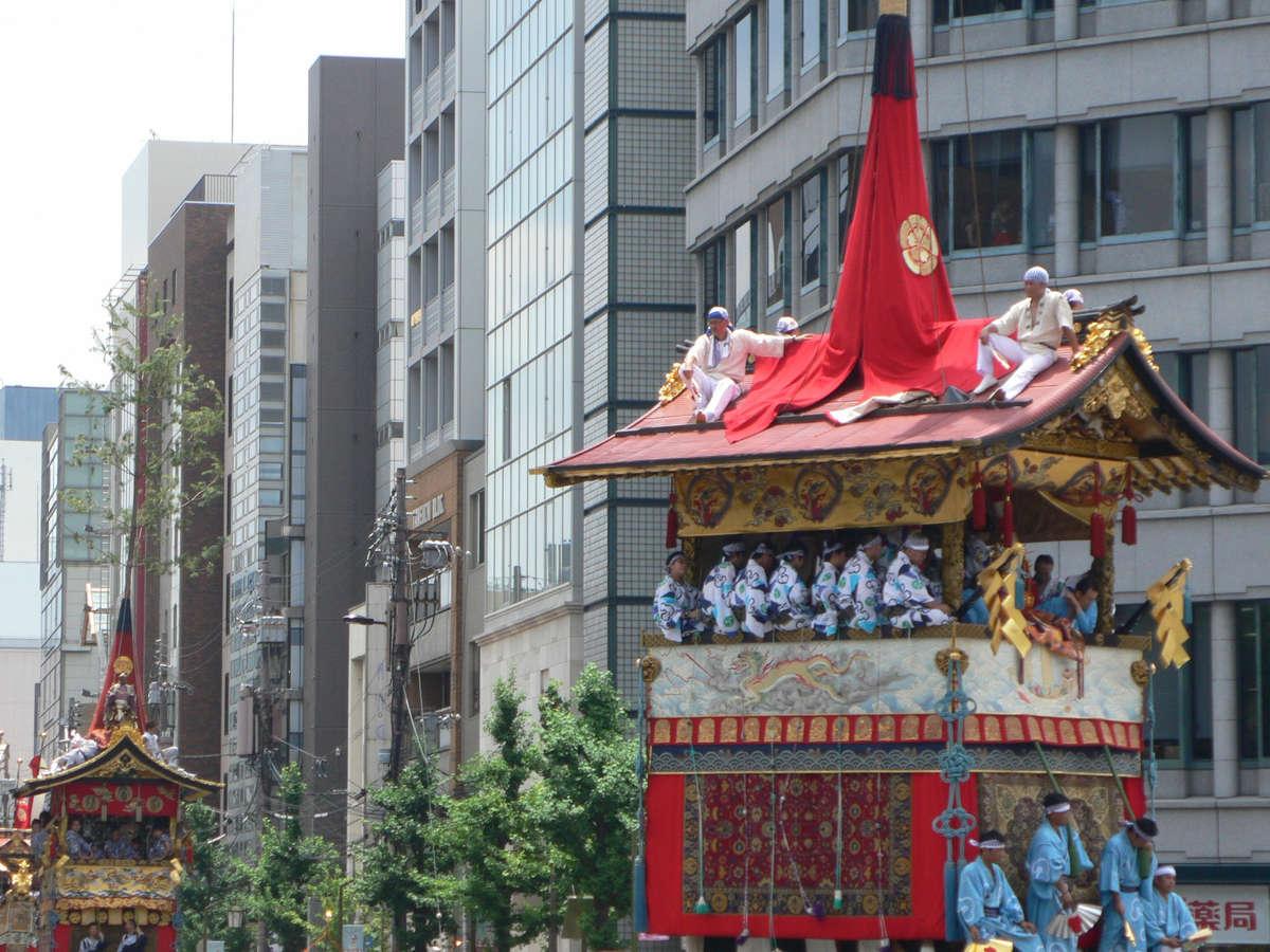 祇園祭(徒歩15分)