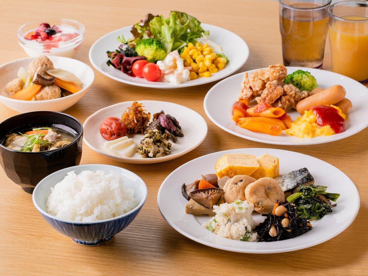 【朝食】ビュッフェイメージ