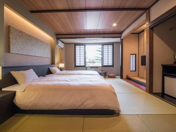 2015年リニューアル★ツインルーム★(一例)高級ホテル仕様のシモンズベッドを導入しております。