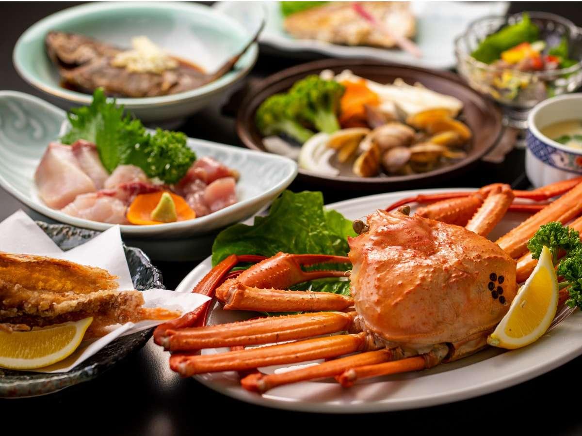 日本海の朝獲れ地魚料理をご堪能いただけます。