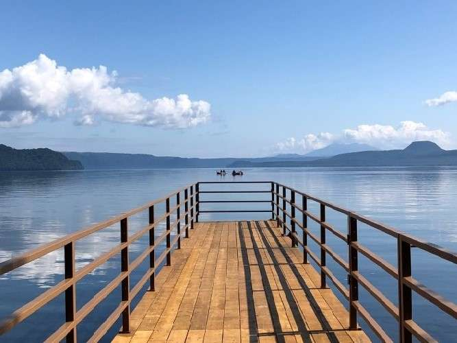 湖畔(桟橋)②