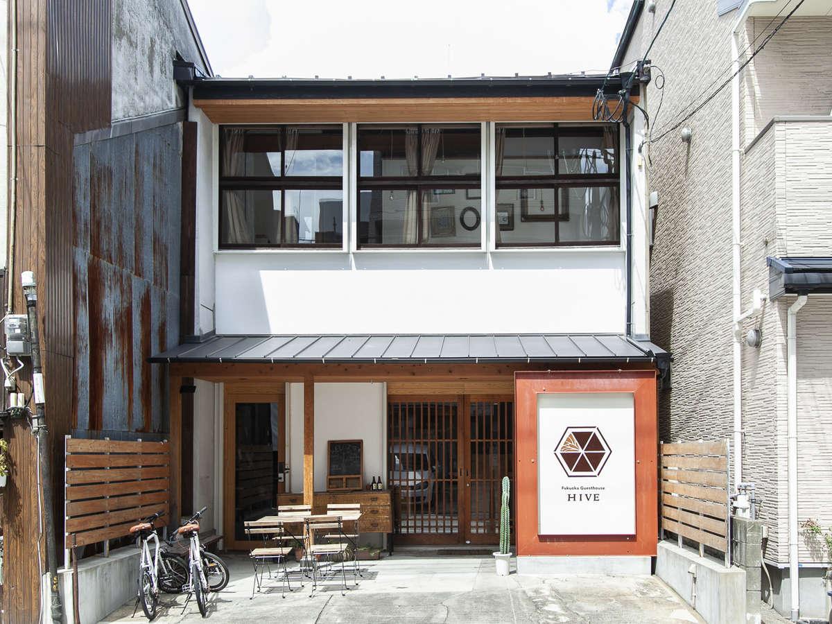 Fukuoka Guesthouse HIVE外観