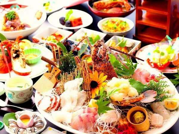 伊勢海老祭りの料理例