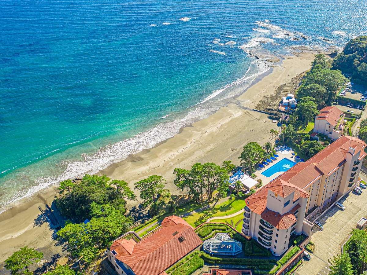 海が目の前のリゾートホテル!