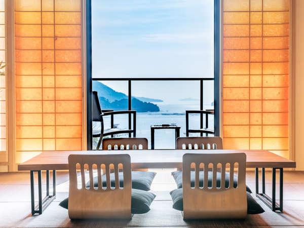 神が宿る宮島を対岸に望み 東は「広島市街の夜景」西は「瀬戸内工業地域の夜景」が楽しめます