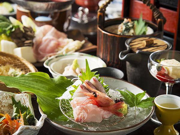 特撰金沢和洋会席イメージ~ワンランク上の食材・お料理にこだわった内容です