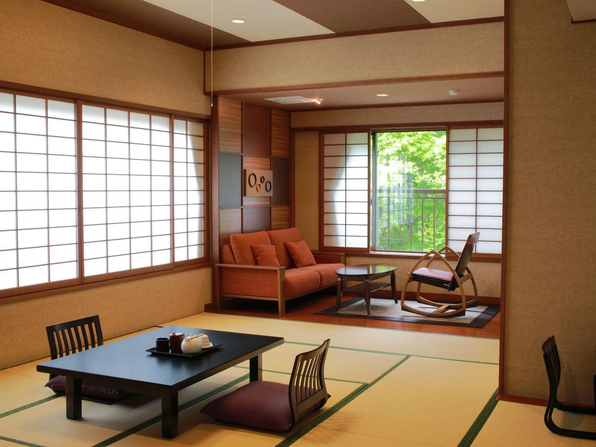 *お部屋一例/【特別和室】檜風呂を備え、至福のひとときを
