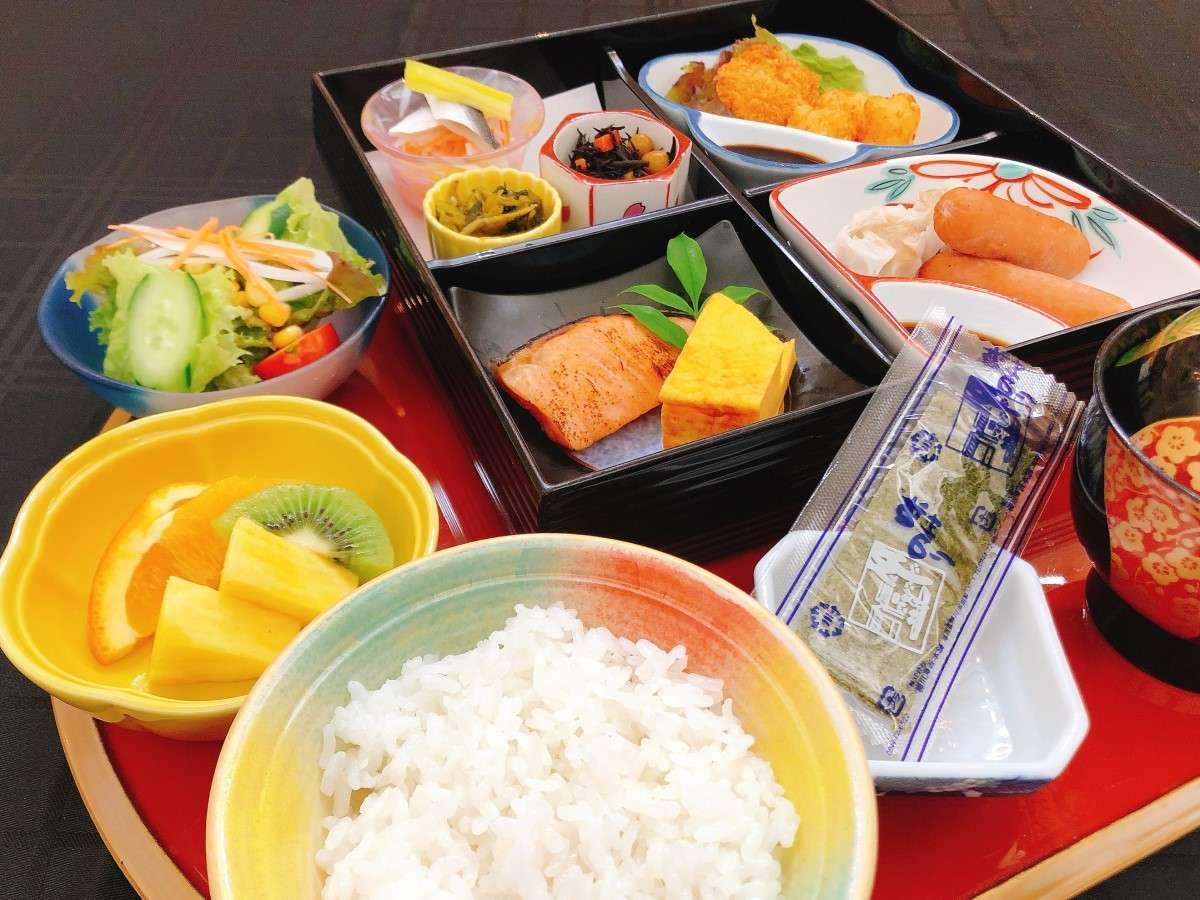 ご朝食(セットメニュー 例)