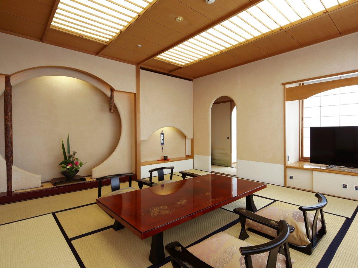 貴賓室は客室フロア最上階の特別なお部屋です。