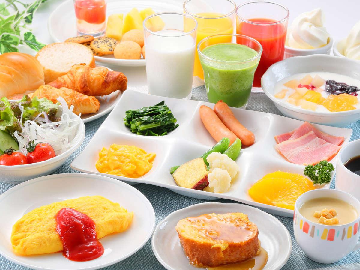 「あがらんしょ」の朝食での洋食一例