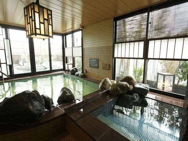 ■男性大浴場 ~内湯・水風呂~