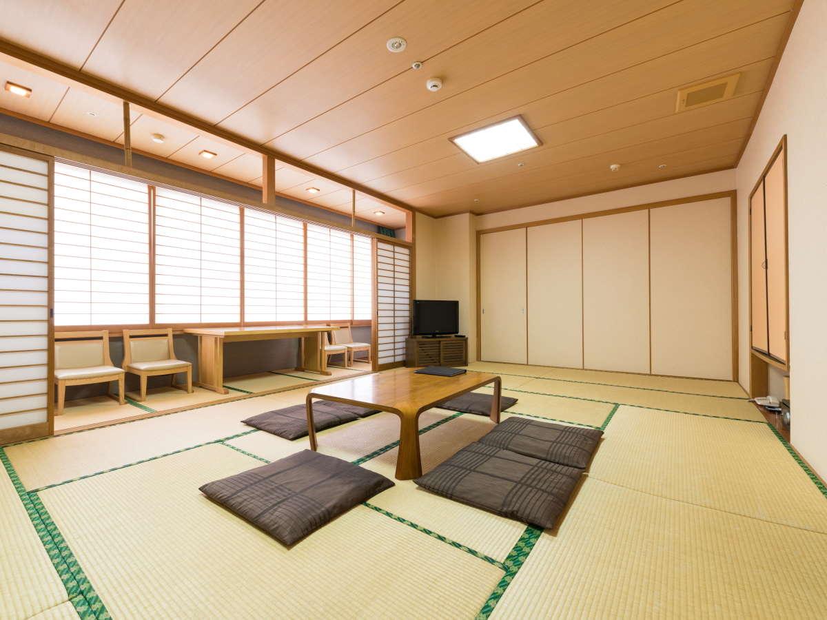 <部屋>和室 グランデ (48㎡)ご家族で利用できる広々とした和室です!