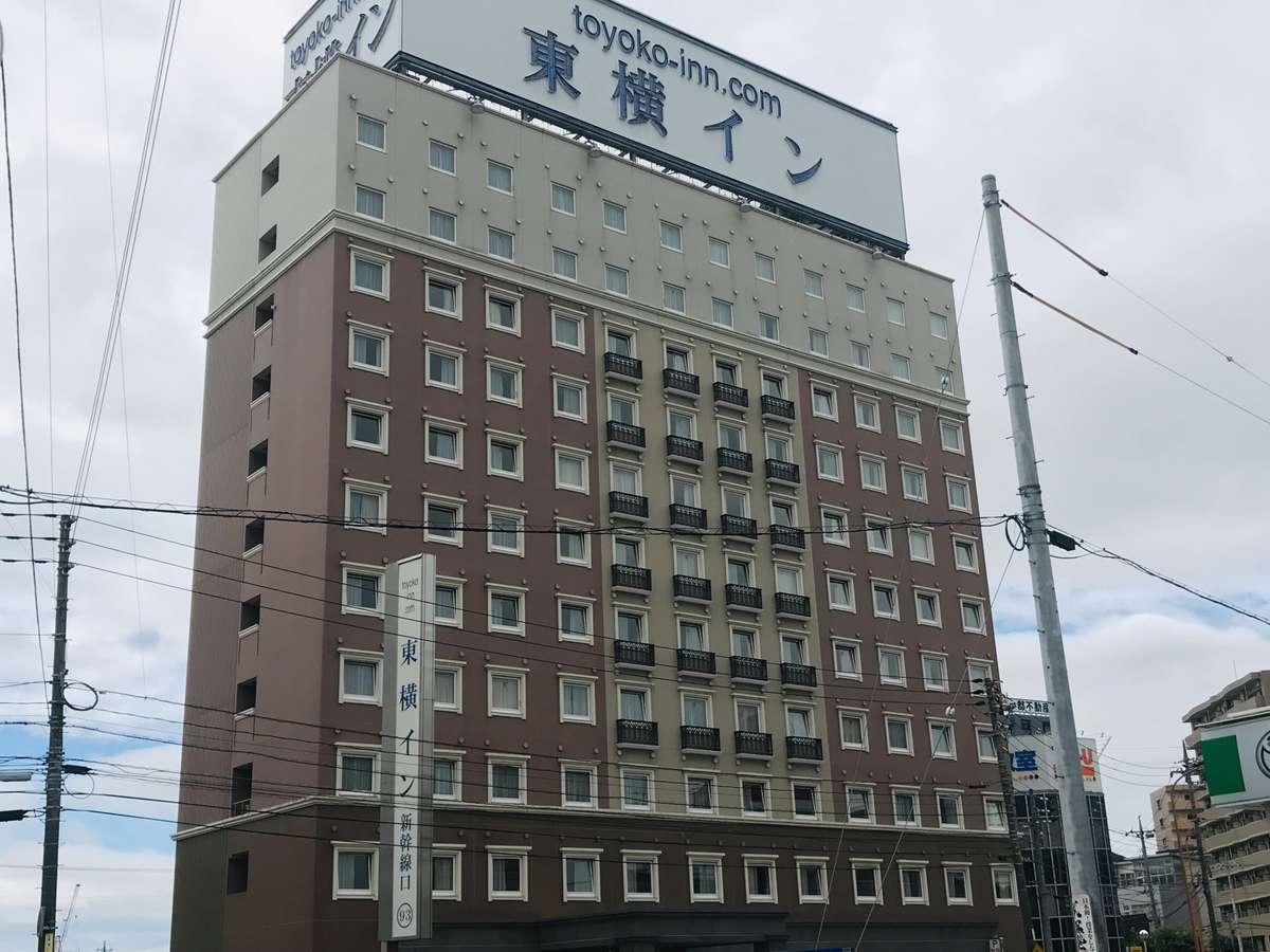 新山口駅新幹線口の前、徒歩2分と好立地