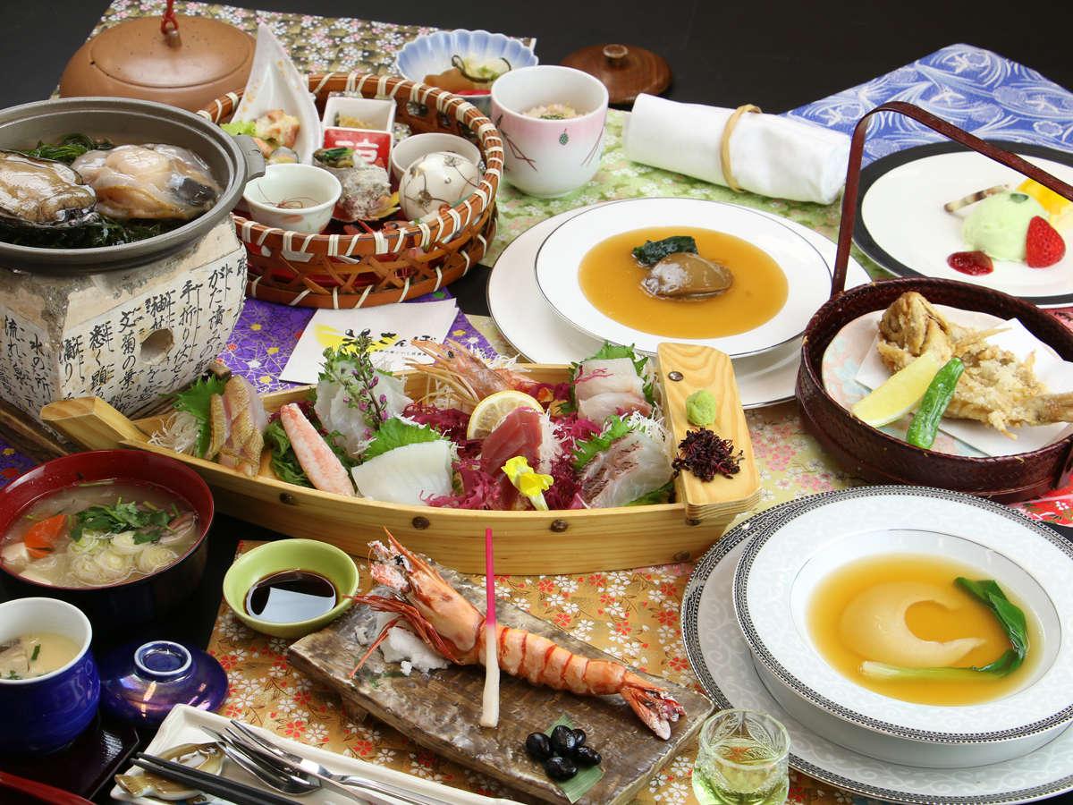 【海華-umihana-冬】 旬の鮮魚のお造り!世界三大漁港の三陸沖で獲れた魚です♪