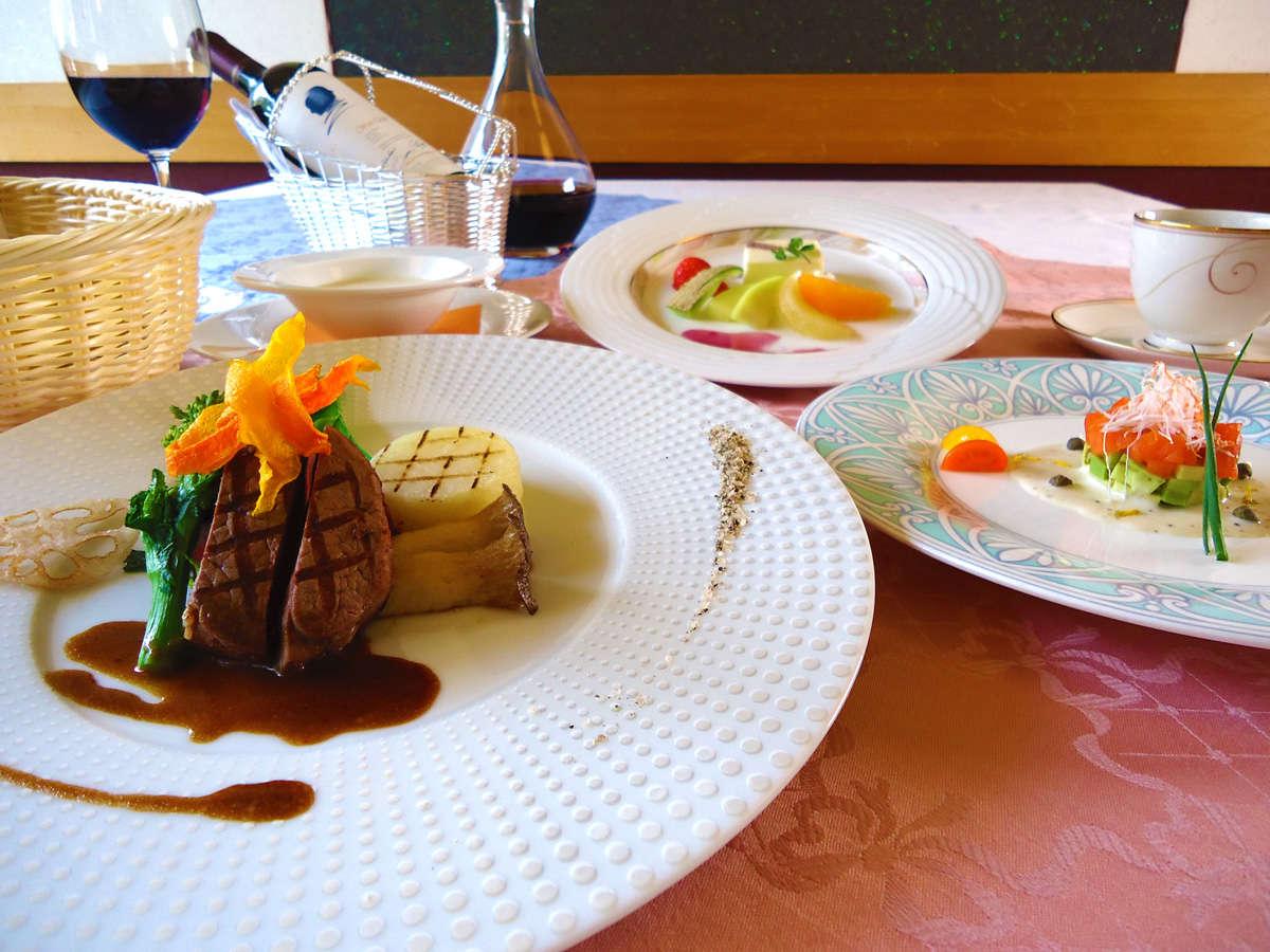 フレンチ料理イメージ・・・当館自慢の料理をご堪能下さい。