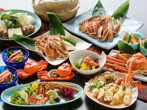 【マル得♪カニコース】 かに味噌珍味から〆のかに雑炊まで。「カニ・かに・蟹!」の蟹プラン♪