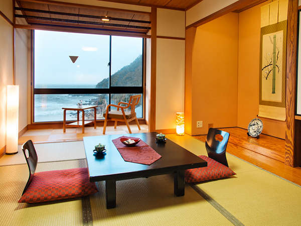 【オーシャンビュー-7.5帖-】 見えるのはただただ、美しい日本海♪