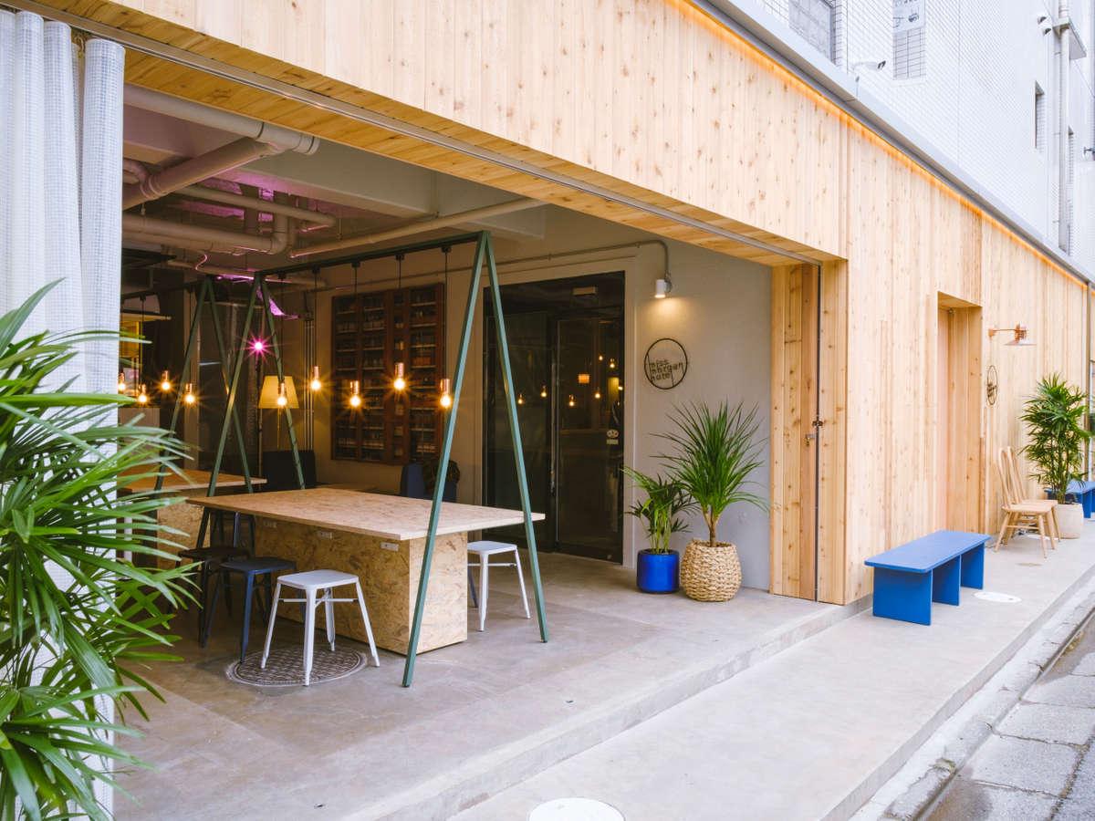 【外観】Cafeスペース