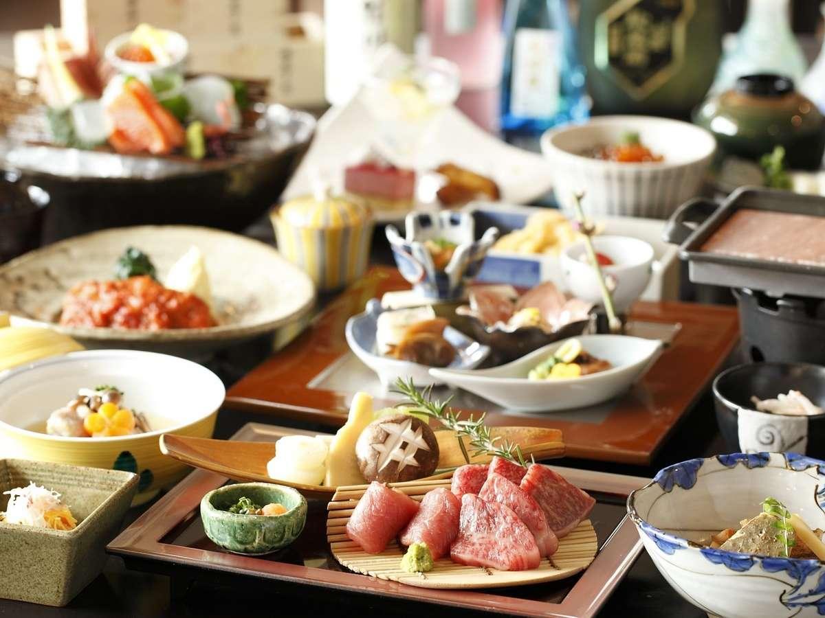 【ご夕食】お選び:里(一例)/Banquet meal image