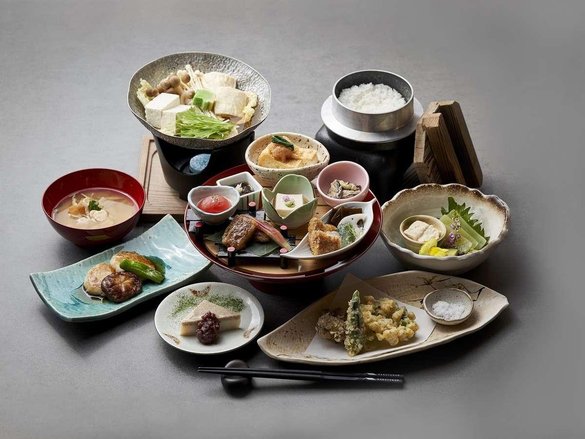 夕食 精進料理イメージ