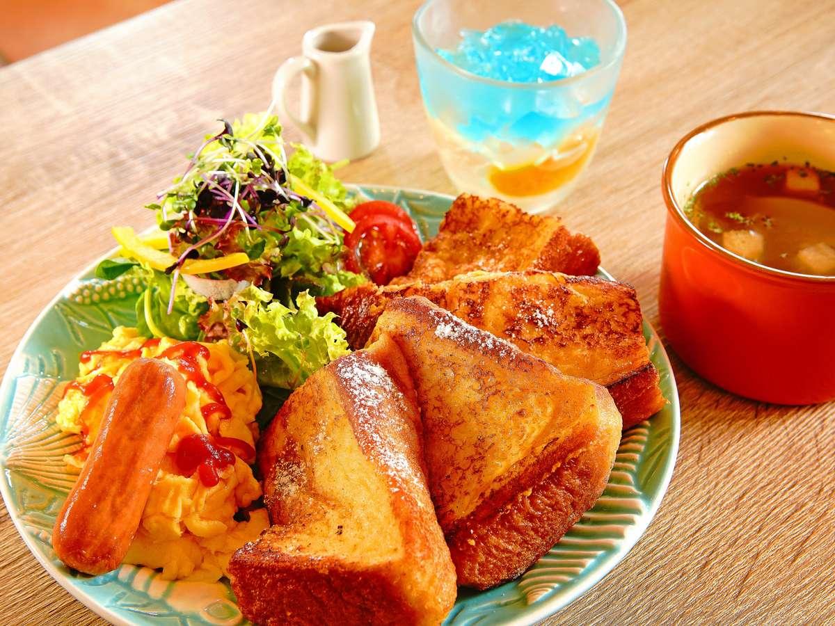 御朝食【フレンチトースト】例