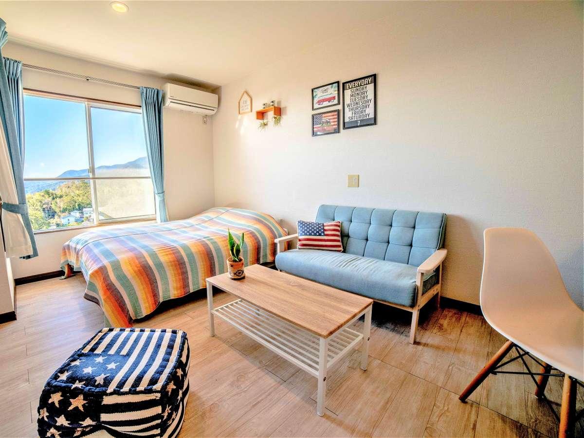 カリフォルニアスタイルを基調とした個性溢れる客室をお楽しみください♪