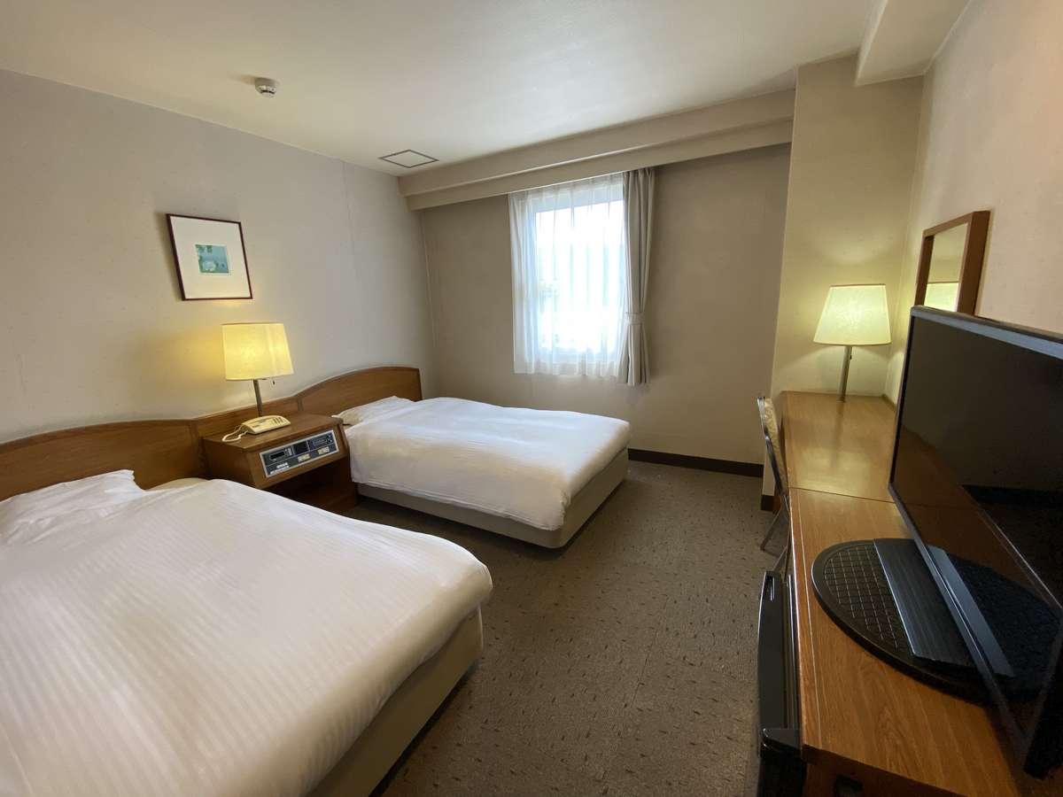 【ツインルーム】18㎡・ベッド幅110㎝