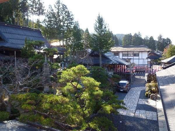 楊柳(ようりゅう)のお部屋からの風景