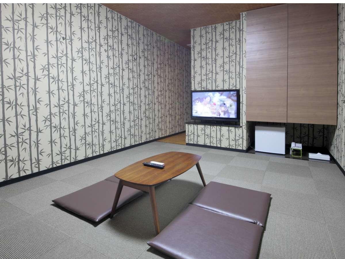 落ち着いた雰囲気のお部屋です。ビジネスの会合などにもご利用いただけます。