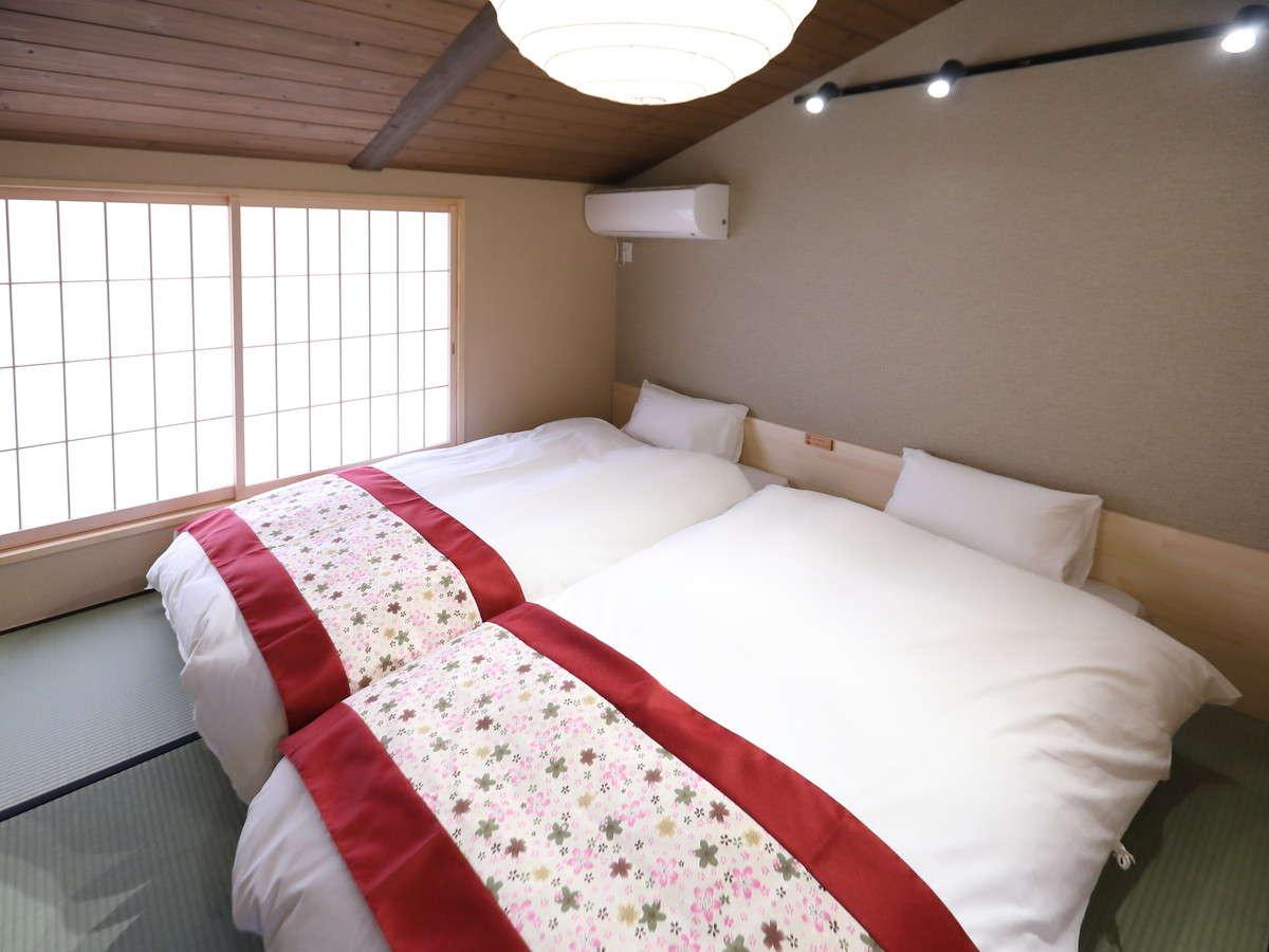 寝室(シングルベッド)