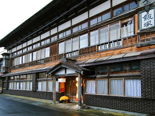 *古き良き時代を感じさせる木造建築の当館外観。