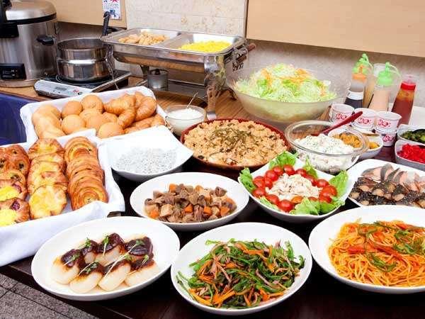 浜名湖の母が毎日仕込む!大好評!和洋手作り朝食バイキング無料サービス♪