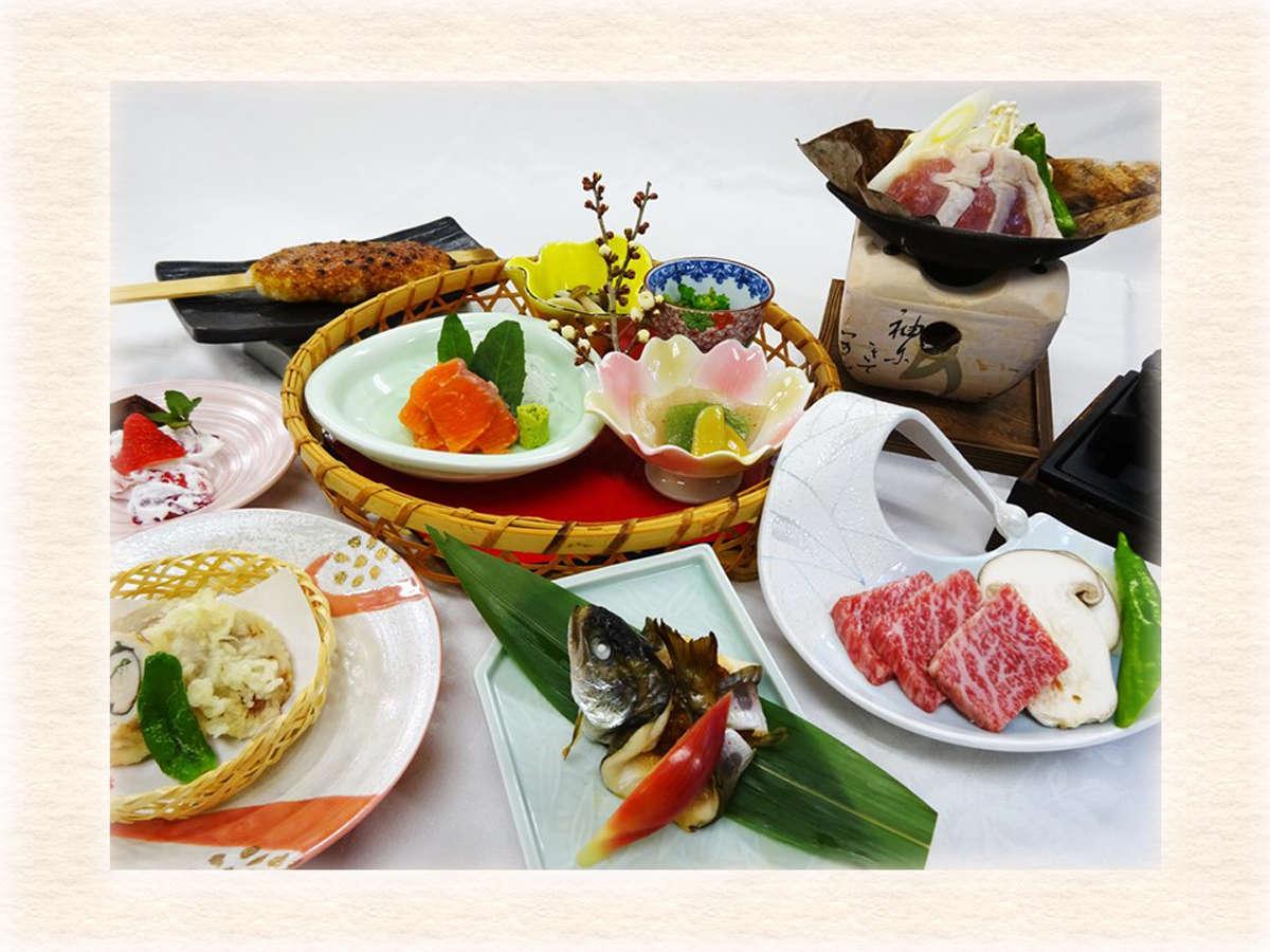 *【季節の御膳】旬の食材と地元食材を使用