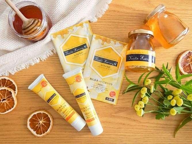 天然成分にこだわり、蜂蜜本来の保湿効果や甘い香りを活かした「KUTE Honey」シリーズ。