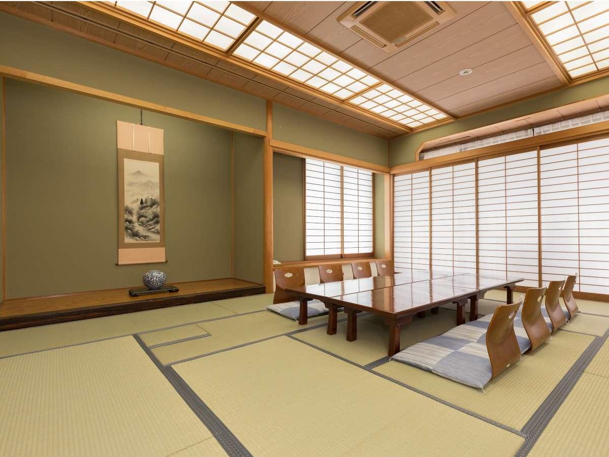 【和室】お茶・お花の教室やご宴席など、ご宿泊にもご利用いただけます。