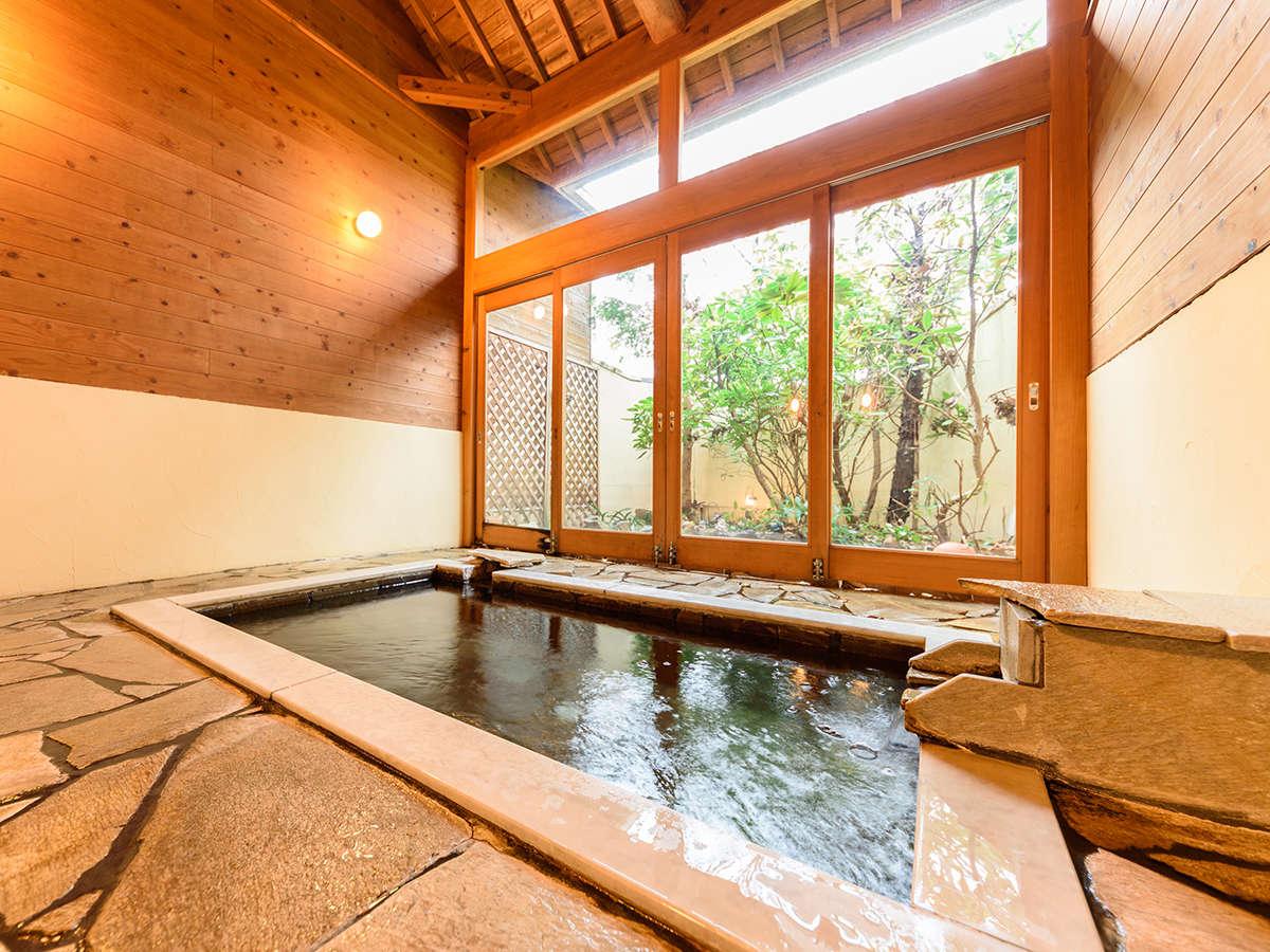 ●貸切半露天風呂 竹の湯