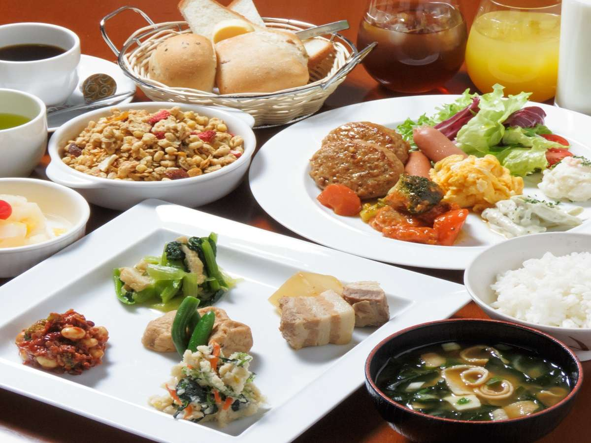 【朝食】3階レストラン・BistroKatsuki・朝食時間6:50~10:30(L.O10:10)
