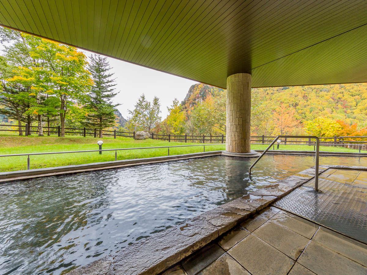 【天華の湯】露天風呂から見る景色は、昼夜問わずお楽しみいただけます★